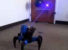 [VIDEO] Laser Emitting Drone