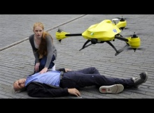 [VIDEO] Life Saving Drones