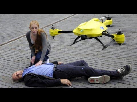 [VIDEO] Life Saving Drones