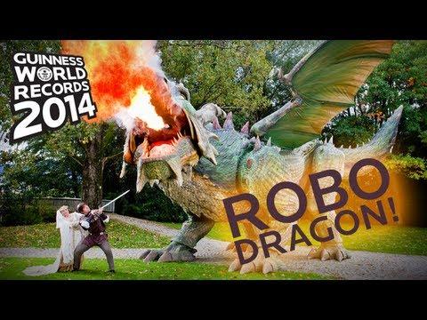 [VIDEO] World's Largest Robot
