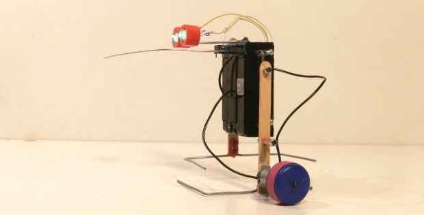 Simple Walking Stick Robot (Avoids Obstacles)