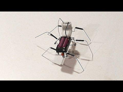 Simple Walking Stick Robot